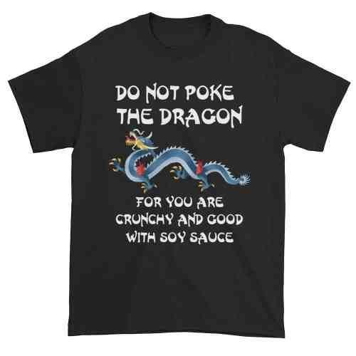 Do Not Poke the Dragon (black)