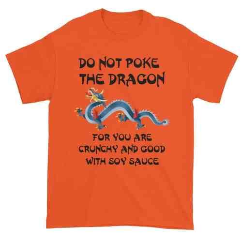 Do Not Poke the Dragon (orange)