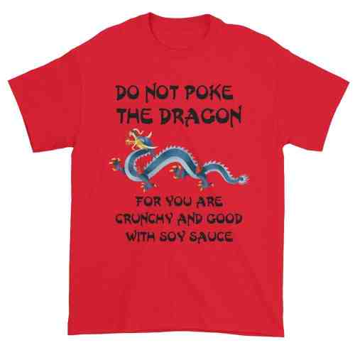 Do Not Poke the Dragon (red)