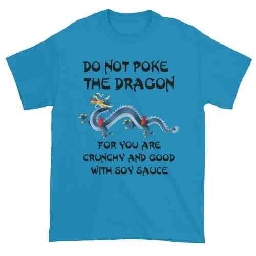 Do Not Poke the Dragon (sapphire)