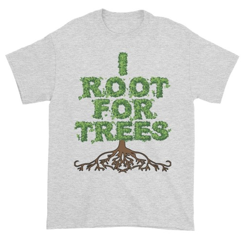 I Root for Trees T-Shirt (ash)