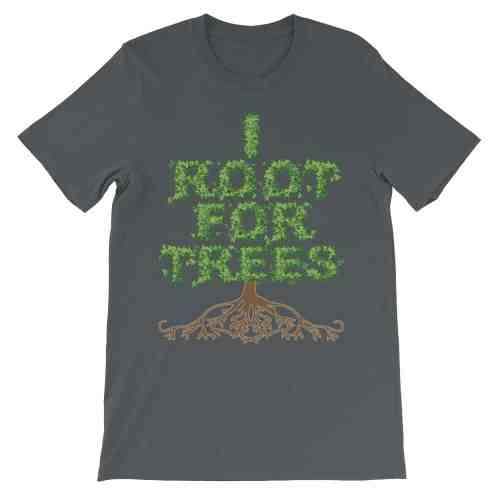 I Root for Trees T-Shirt (smoke)