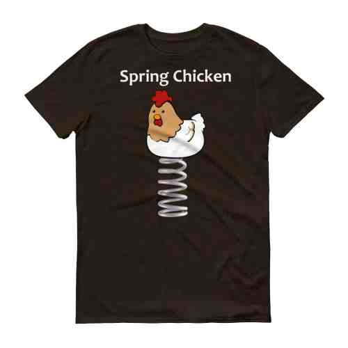 Spring Chicken T-Shirt (chocolate)