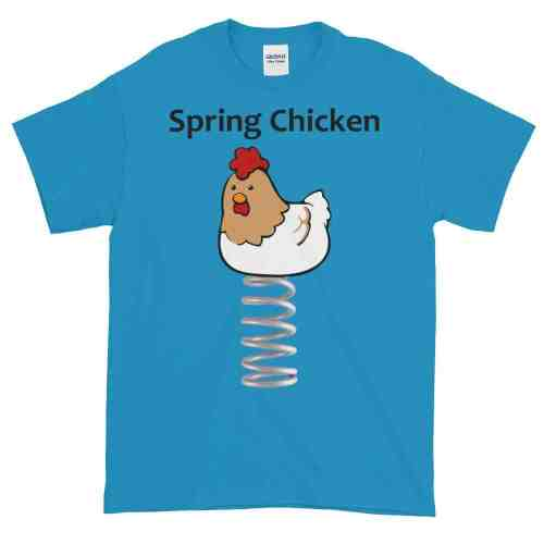 Spring Chicken T-Shirt (sapphire)