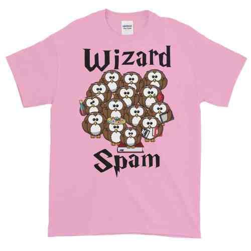 Wizard Spam T-Shirt (pink)