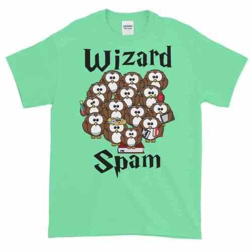 Wizard Spam T-Shirt (mint)