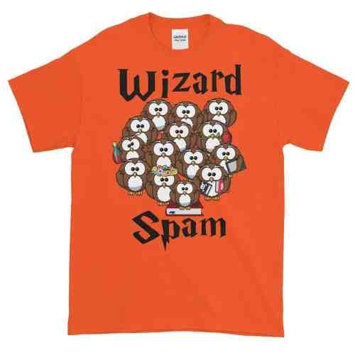 Wizard Spam T-Shirt (orange)