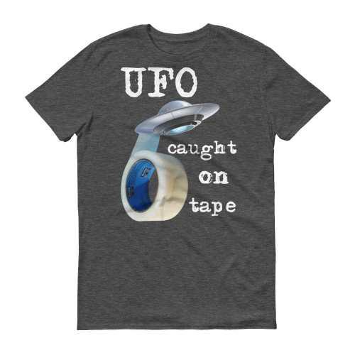 UFO Caught on Tape T-Shirt (smoke)