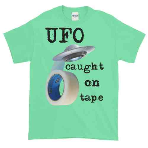 UFO Caught on Tape T-Shirt (mint)