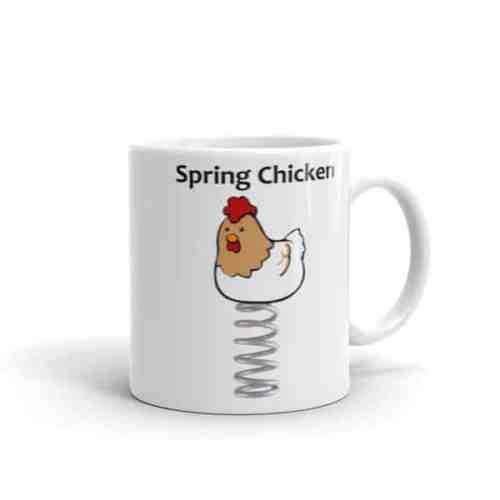 Spring Chicken Mug - 11 right
