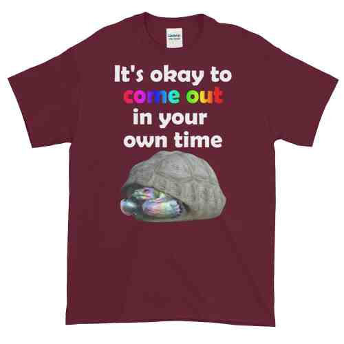 Come Out in Your Own Time T-Shirt