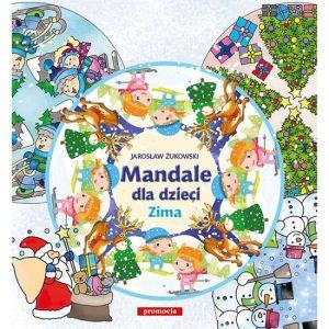mandale dla dzieci zima