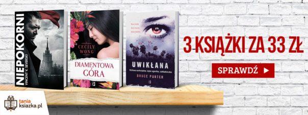 3 książki za 33 zł