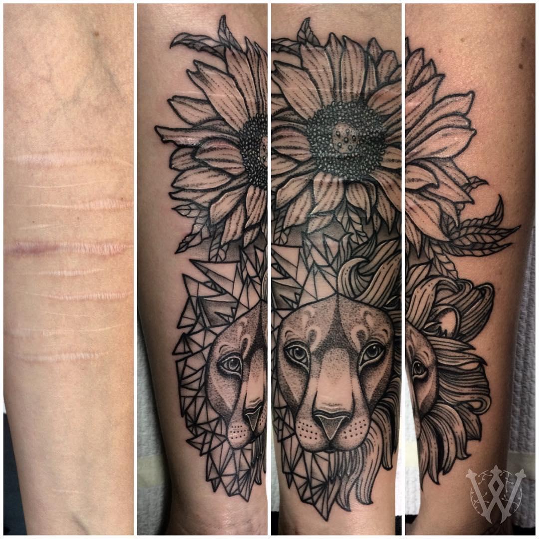 Artystka Robi Za Darmo Tatuaże W Ten Sposób Chce Pomóc