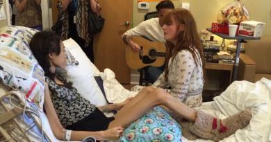 Wokalistka dała prywatny występ chorej na raka nastolatce, która nie mogła przyjść na koncert