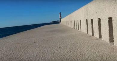 """Morze Adriatyckie """"gra na organach"""""""
