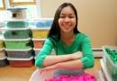 Nastolatka prezentuje światu nową formę sztuki, budując fascynujące modele przy użyciu tysięcy kostek domina