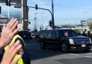Policjanci zabezpieczający przejazd prezydenta uratowali życie przypadkowemu mężczyźnie
