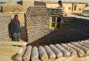 Dla babci… zbudował dom z plastikowych butelek