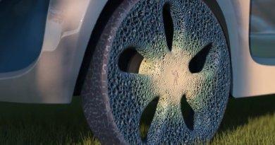 Biodegradowalne, bez powietrza, wydrukowane w 3D – takie mają być opony przyszłości