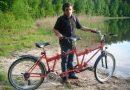Niewidomy Karol marzy o podróży rowerem po Europie. Szuka kompana do tandemu
