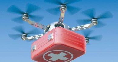 W Polsce powstaje pierwszy na świecie system transportu krwi dronamii
