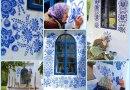 91-latka Anezka Kasparkova, malarka ludowa z Czech, swoimi obrazami rozsławiła małą wioskę