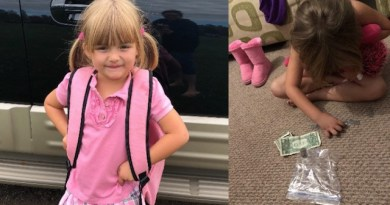 5 – latka opróżniła skarbonkę, aby kupić mleko dla szkolnej przyjaciółki, razem z babcią zorganizowały akcję charytatywną