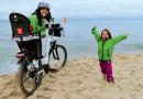 Przejechała 550 km wzdłuż Bałtyku. Towarzyszyła jej 3-letnia córka