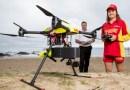 Dron uratował tonących chłopców. Pierwsza taka akcja na świecie [VIDEO]