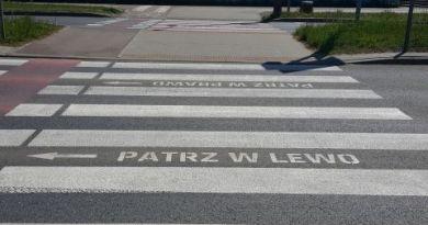W Sosnowcu powstało specjalne przejście dla pieszych zapatrzonych w smartfony