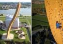 Największą wolnostojącą wieżę wspinaczkową na świecie znajdziecie w Holandii