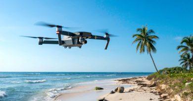 Drony czuwają nad bezpieczeństwem plażowiczów