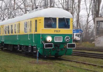 Miłośnicy kolei sami odnowili zabytkowy pociąg