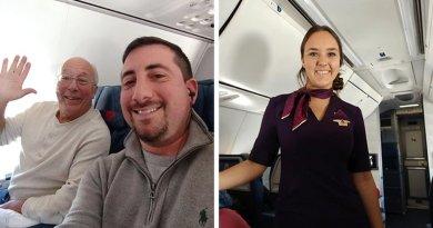 Ojciec zabukował 6 lotów, aby spędzić Święta ze swoją córką stewardessą