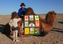 Mobilna biblioteka dla dzieci w Mongolii