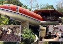 Kobieta z Mississippi zamieniła Boeinga 727 w olśniewający dom nad jeziorem