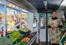 Autobusy przekształcone w mobilne stragany z żywnością