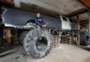 W Dynowie na Podkarpaciu powstaje największy monster truck na świecie