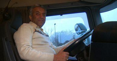 """Fardin wróci do domu nową ciężarówką. """"Moja żona mówi, że ludzie, których spotkałem, to anioły"""""""