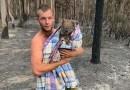 Australia. Bohaterski 22-latek uratował koalę z płonącego lasu