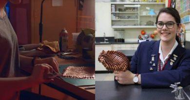 Nastolatka opracowuje specjalną ochronną zbroję, która może posłużyć za osłonę podczas zabiegu radioterapii