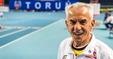 Stanisław Kowalski ze Świdnicy skończył 111 lat. To najstarszy biegacz świata