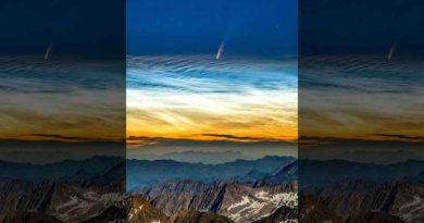 Pierwszy raz od 1997 roku możemy zobaczyć gołym okiem spektakularną kometę