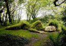 Świat rodem z baśni. Malownicze ogrody Heliganu kryją niesamowita rzeźbę