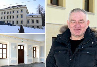 Kupił zaniedbany pałac na Dolnym Śląsku. Po 7 latach remontu jest nie do poznania