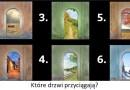 Zabawa psychologiczna – wybierz drzwi aby poznać wskazówkę z podświadomości…