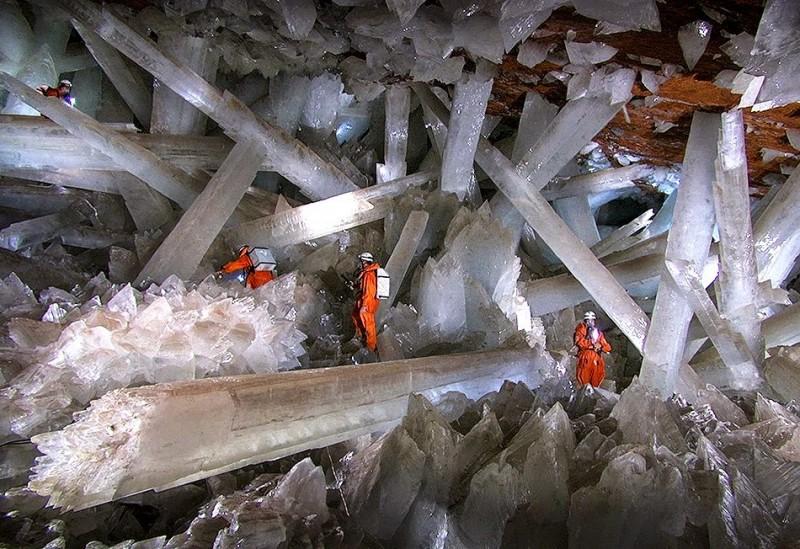 jaskinia kryształów