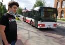 Piotrków Trybunalski. Bohaterski 14-latek uratował kierowcę autobusu i innych pasażerów