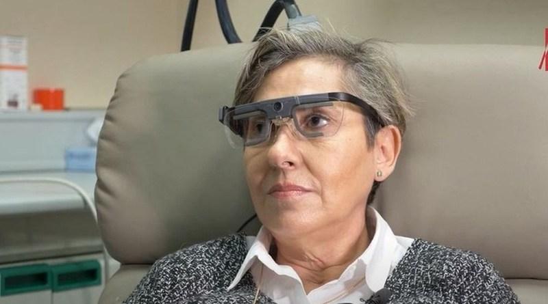 Dzięki implantowi niewidoma kobieta była w stanie odróżnić litery i przedmioty